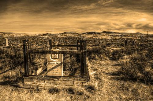 cemetery montana hdr bannack