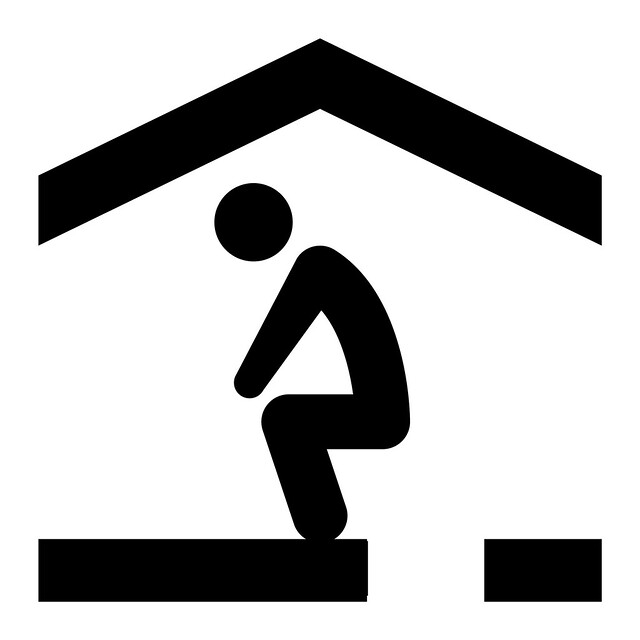 Latrine clean water icon from The Noun Project Iconathon.