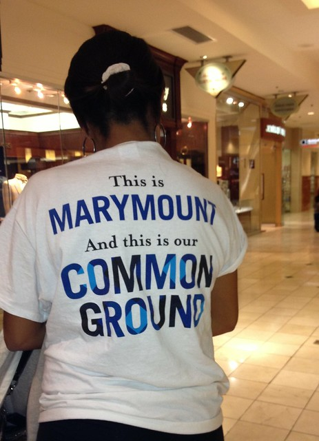 Common Ground - Marymount Goes Shopping