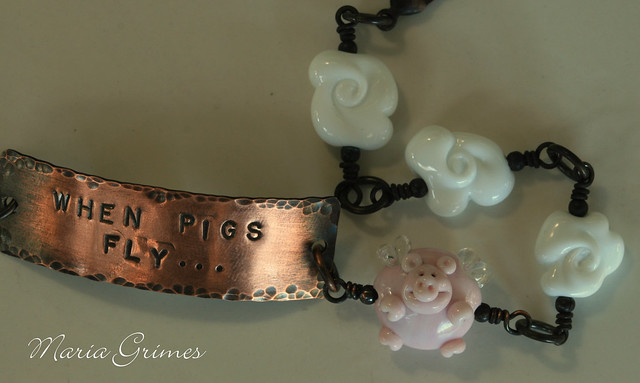 When Pigs Fly- Bracelet