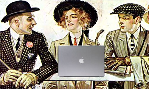 Group Blog, after J. C. Leyendecker