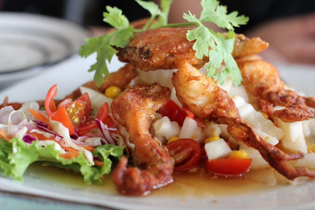 Soft shell crab... delicious!