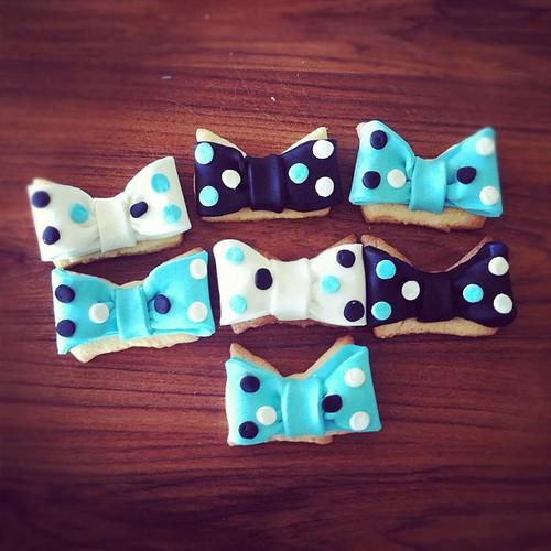 #bowtiebabycookies#papyon fasadura kurabiyeleri by l'atelier de ronitte