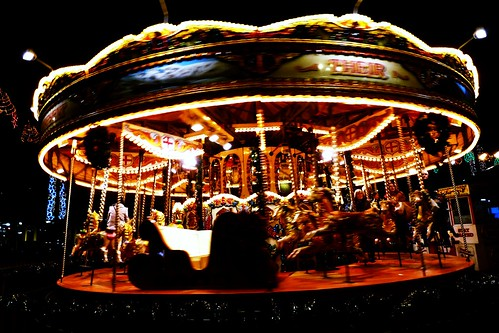 Merry-Go-Round at George Square, Glasgow