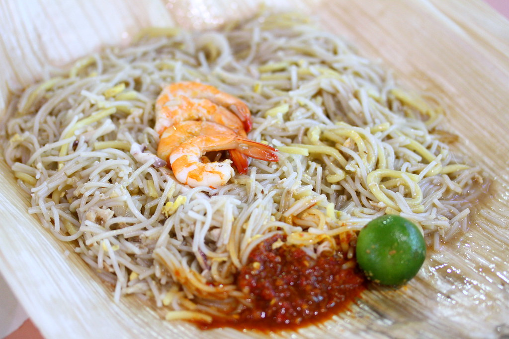 Ang Mo Kio Central Market & Food Centre: Fried Hokkien Prawn Noodle (炒福建虾面)