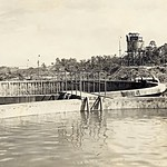 Tarakan 1945_Oil tanks
