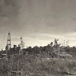 Tarakan 1945_Oil fields