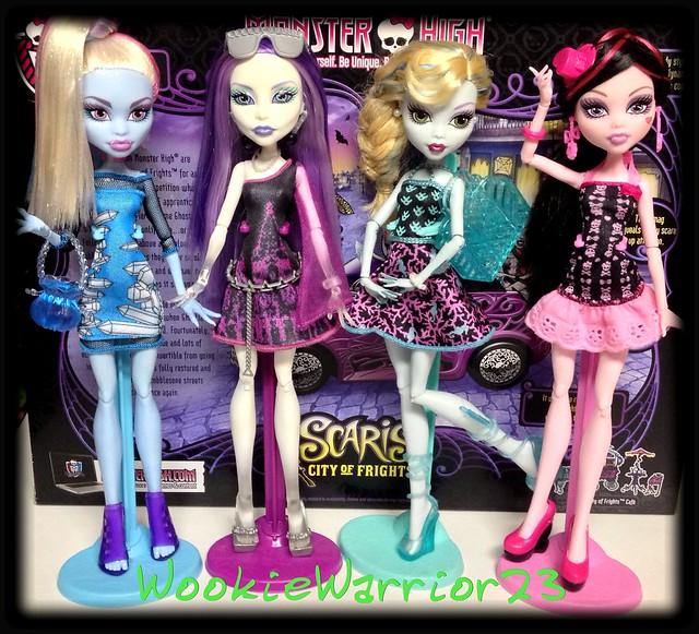 New Monster High Fashion Packs