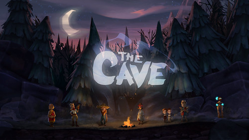 The Cave - Campfire Wallpaper - 1920x1080