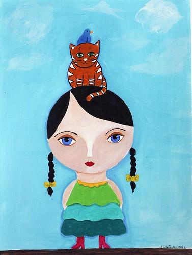 Girl Totem