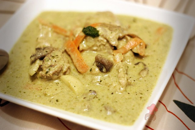 泰式綠咖哩 Thai Green Curry 7