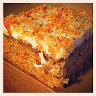 Vegan carrot cake from @veggiegrill #vegan #veganfood