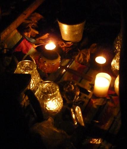 Crossbones Candles