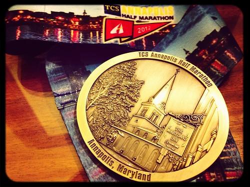 13.1 Miles at Annapolis Half Marathon