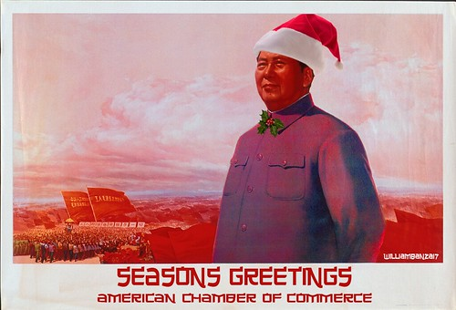 SEASONS GREETNGS AMERICAN CHAMBER by Colonel Flick/WilliamBanzai7