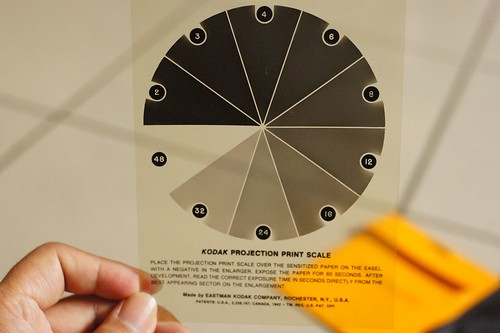 Kodak Projection Print Scale