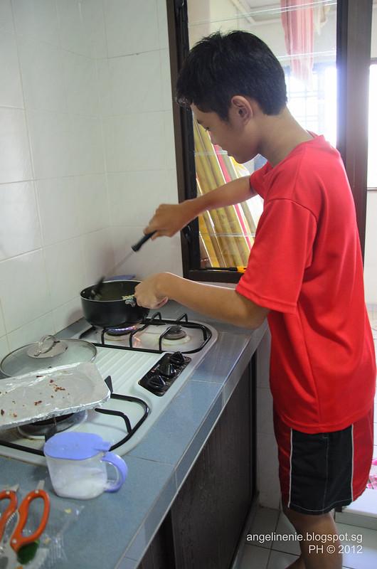 Nic @ the wok