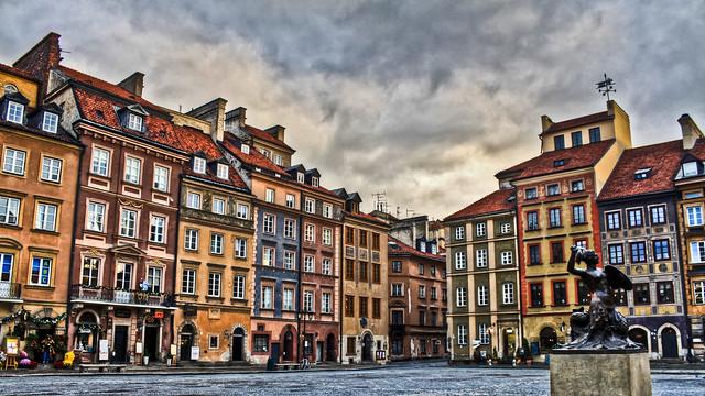 0317 - Poland, Warsaw, Rynek Starego Miasta HDR