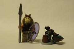 LEGO Star Wars 2012 Advent Calendar (9509) - Day 3: Gungan Shield Set