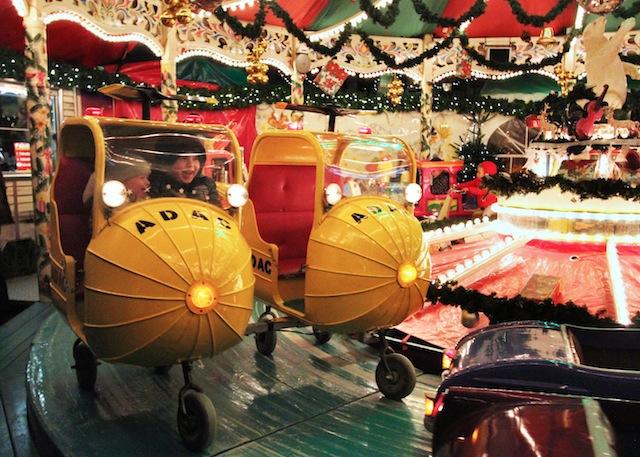 Carousel Aachen Christmas market