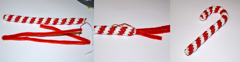 Candy Cane Crochet Tutorial by Diana