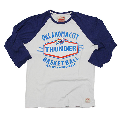 OKC THUNDER BOYD SHIRT BY SPORTIQE