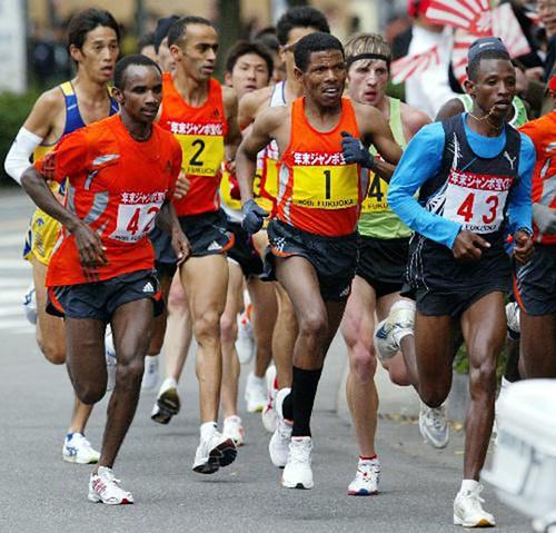 Maratón de Fukuoka 2006 - Haile Gebr