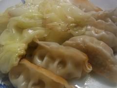 餃子とキャベツ