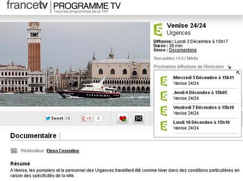 Venise 24/24 sur France 5 8244794758_d82135fd9e