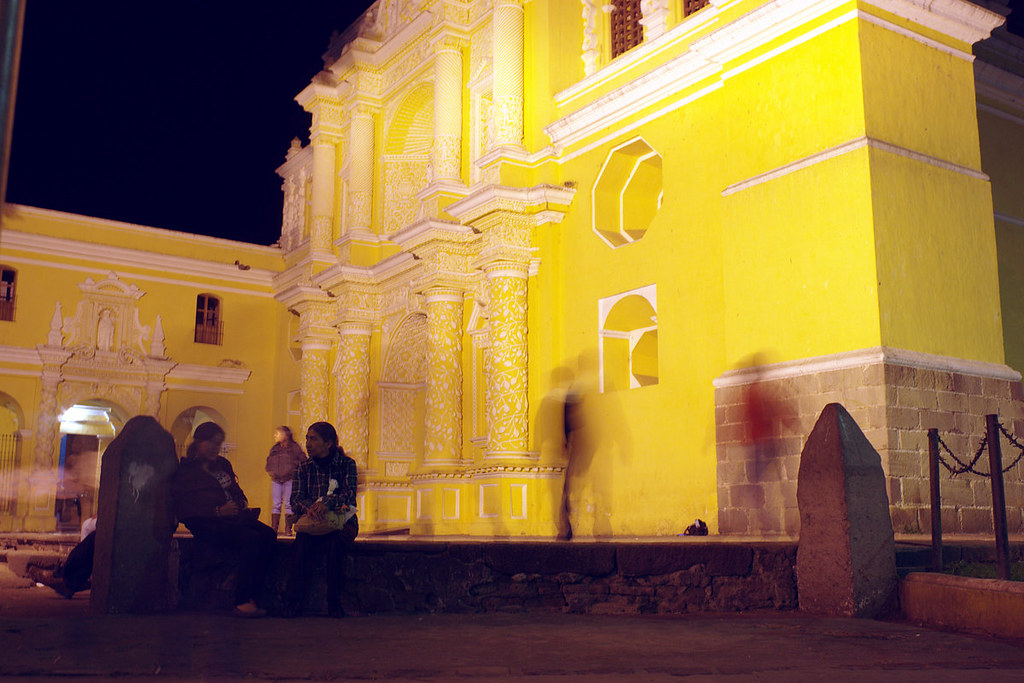 La Merced at Night
