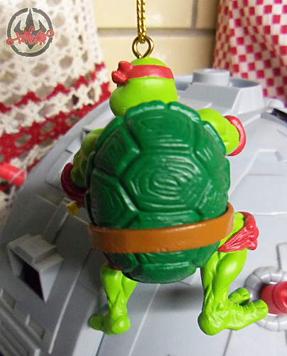 "AMERICAN GREETINGS :: TEENAGE MUTANT NINJA TURTLES - ""RAPHAEL"" Ornament v (( 2012 ))"