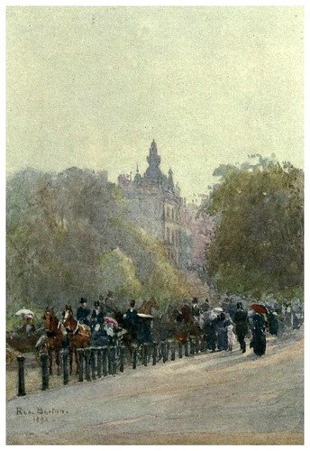 003-El Paseo en Hyde Park-Familiar London (1904)-Rose Barton