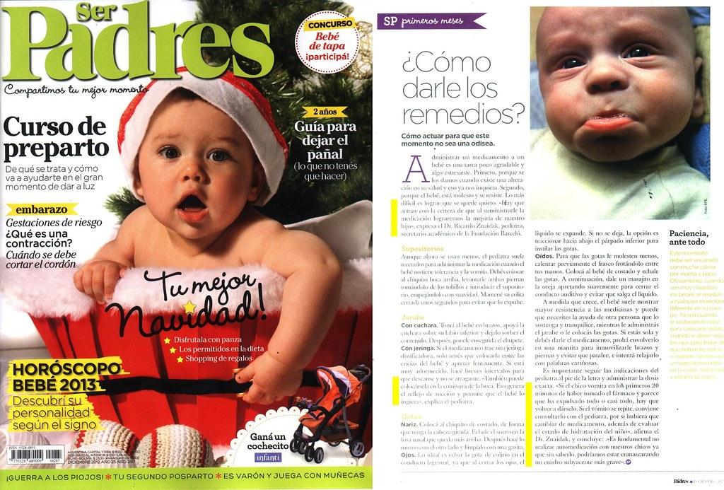 Revista Ser Padres Diciembre 2012