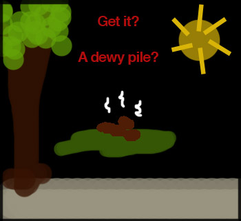 a-dewy-pile