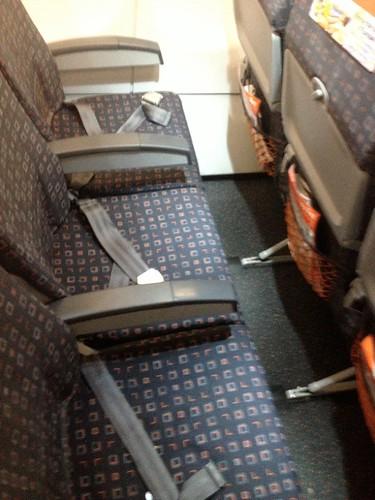 Avis du vol easyjet lyon toulouse en economique for Interieur avion easyjet