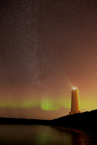 The Milky Way and the Lighthouse