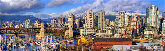 Vancouver's Snow Capped Skyline
