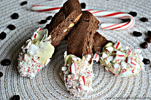 White Chocolate Dipped Almond Biscotti5