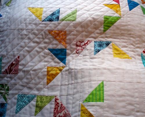 Triangle Maze Quilt