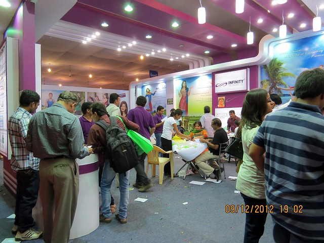 Pune Property Exhibition - Sakal Vastu - Property Expo - December 2012 - 6