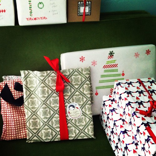 wrapping!