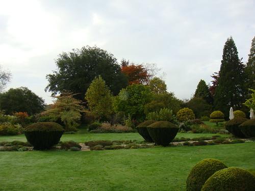 Vista de parte de los jardines
