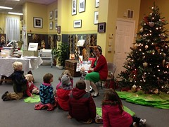 Reading at the Xmas Stroll