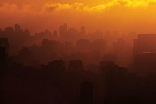 sunset orange night tramonto cloudy laranja pôrdosol ibirapuera layers arancione coucherdusoleil parquedoibirapuera ibirapuerapark