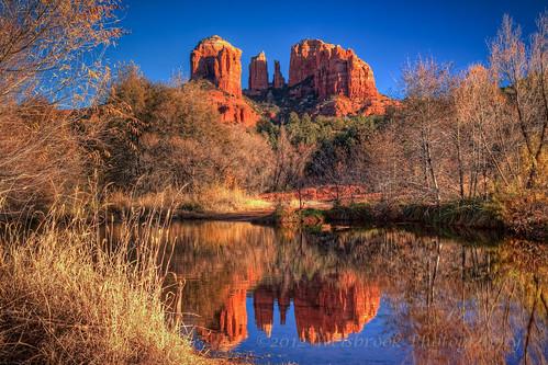 november arizona water reflections sedona cathedralrock 2012 redrockstatepark oakcreek redrockcrossing
