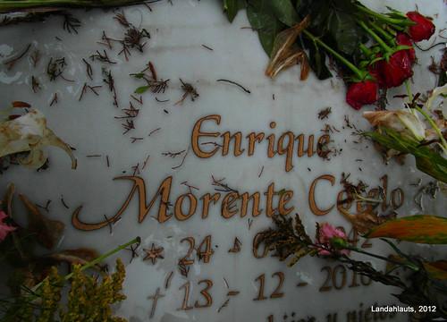 Tumba de Enrique Morente