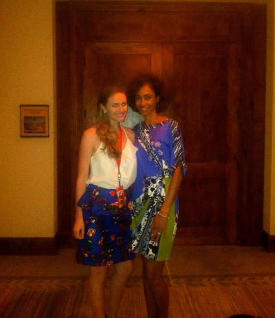 ESPN Women + Sports Summit: sage steele and lindsay e. brown
