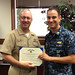Small photo of LT Archer Receives Navy & Marine Corps Commendation