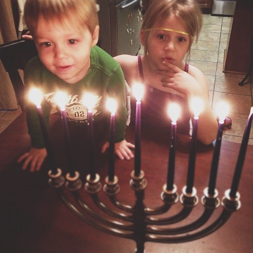 This little light of mine, I'm gonna let it shine... #day7 #hanukkah #hope