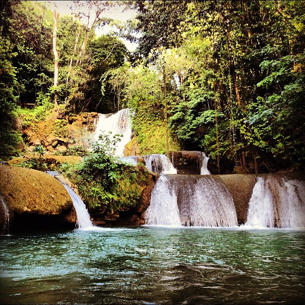 Spent some time at YS Falls in #jamaica. It's a pleasant place to spend an afternoon.